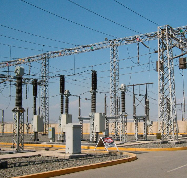 Electrical-And Power Transmission Substations